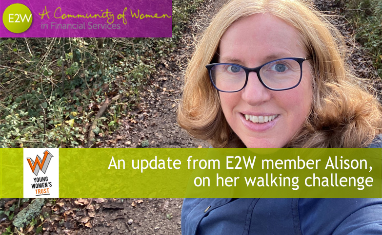 Update from E2W member Alison Smith who is (virtually) walking from Land's End to John O'Groats