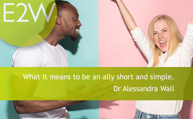 What it means to be an ally short and simple.