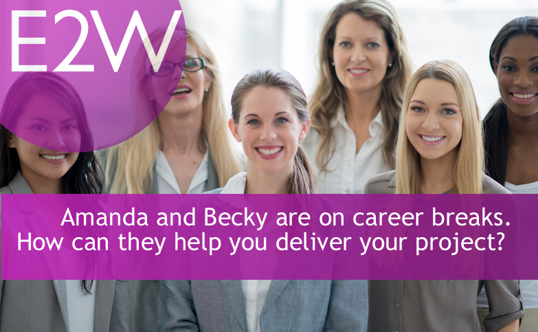 Amanda, Becky, Caroline, Denise, Elisa and Fran are on career breaks. How could they help you?