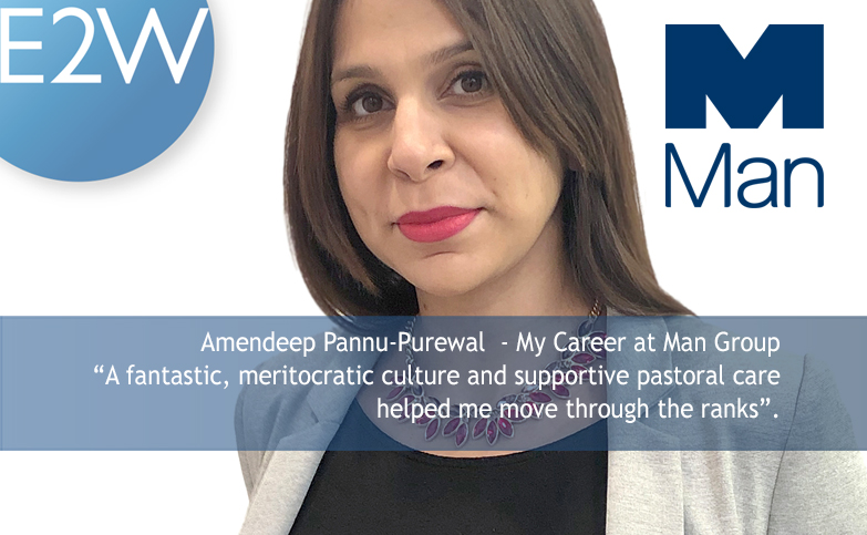Amendeep Pannu-Purewal  - My Career at Man Group