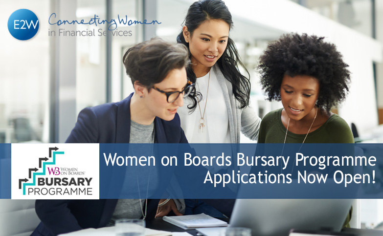 Could you join a board? Apply to Women on Boards bursary programme!