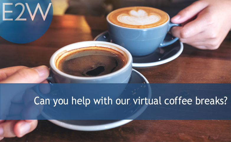 Can you help with our virtual coffee breaks?