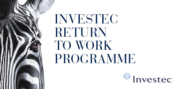 Investec launch their Return to Work Programme