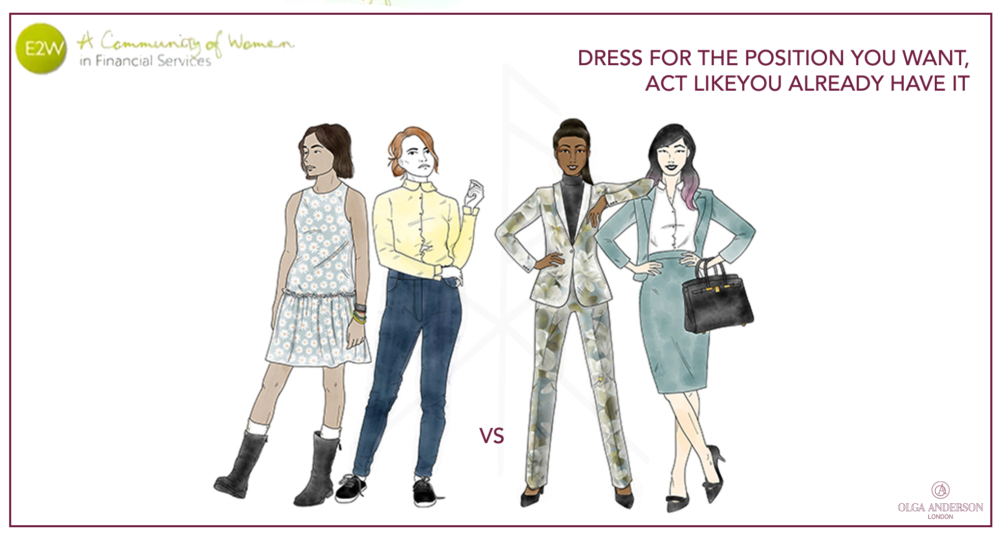 Olga Anderson - Dress for the Position You Want, Act Like You Already Have It