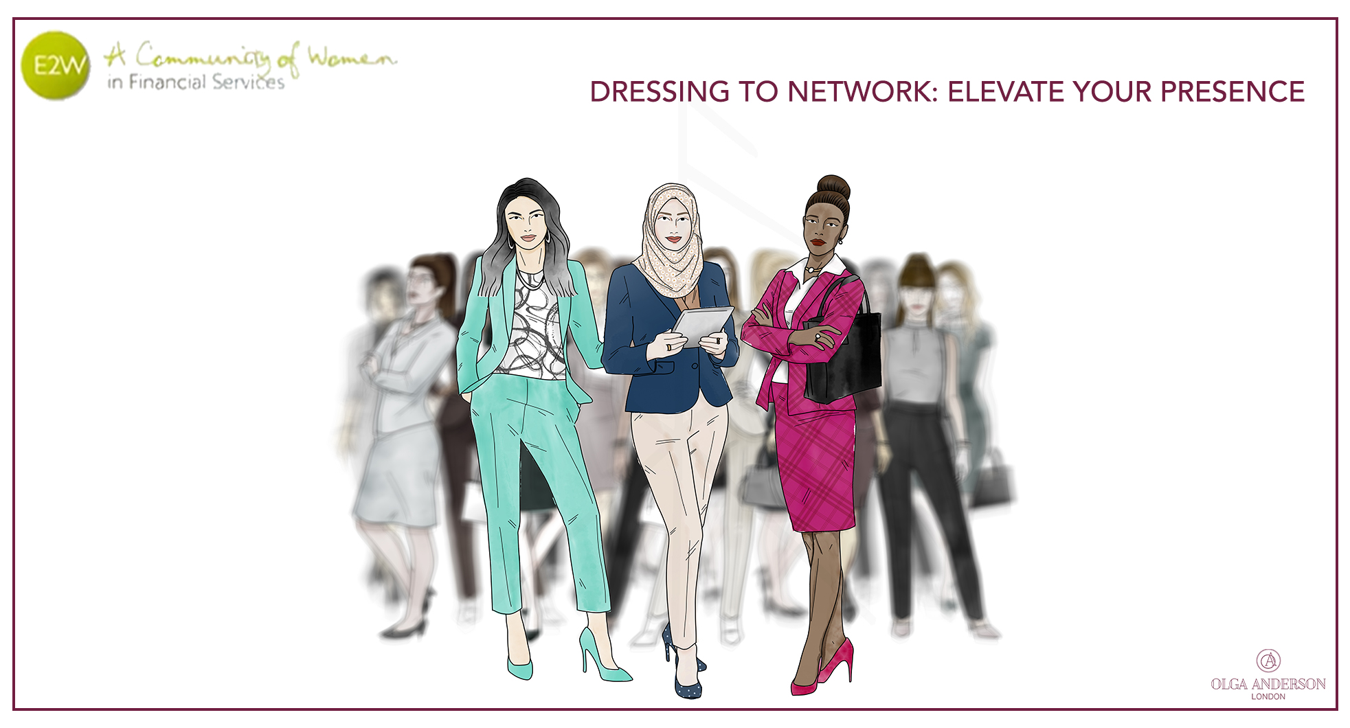 Olga Anderson - Dressing to Network: Elevate your Presence