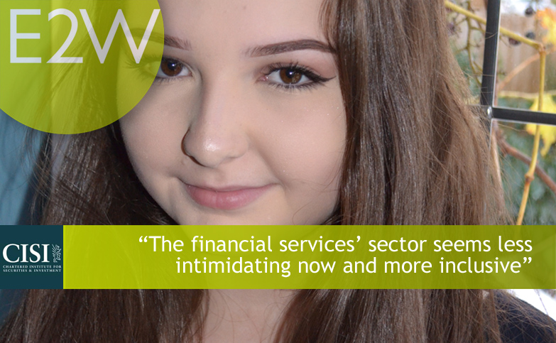 E2W Sponsored Student Freya recently attended an Insight Day and shares her experience.