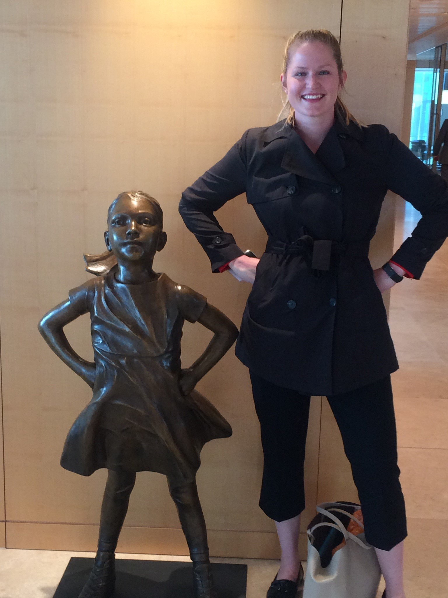 Fearless Girl meets Robyn