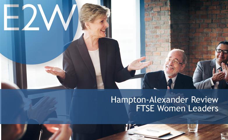 Hampton-Alexander Review - women on FTSE boards