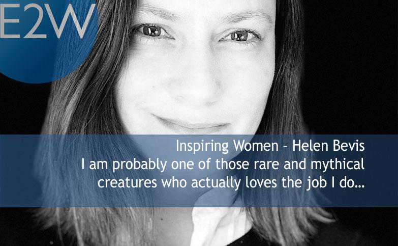 Inspiring Women – Helen Bevis