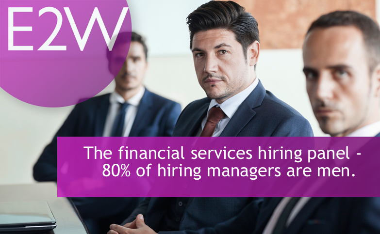 Results are emerging from the E2W Financial Services Gender Recruitment Survey