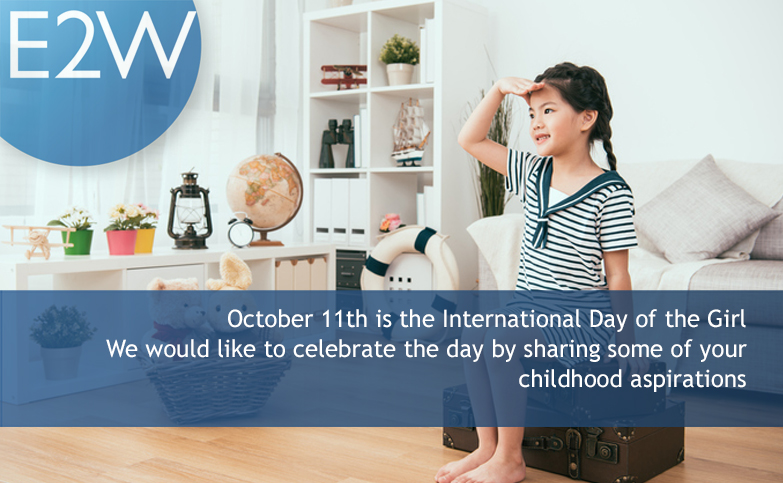 October 11th is the International Day of the Girl