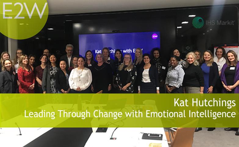 E2W coaching partner, Kat shared the psychology, neuroscience and leadership theory behind Emotional Intelligence.