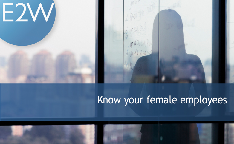 Know your female employees