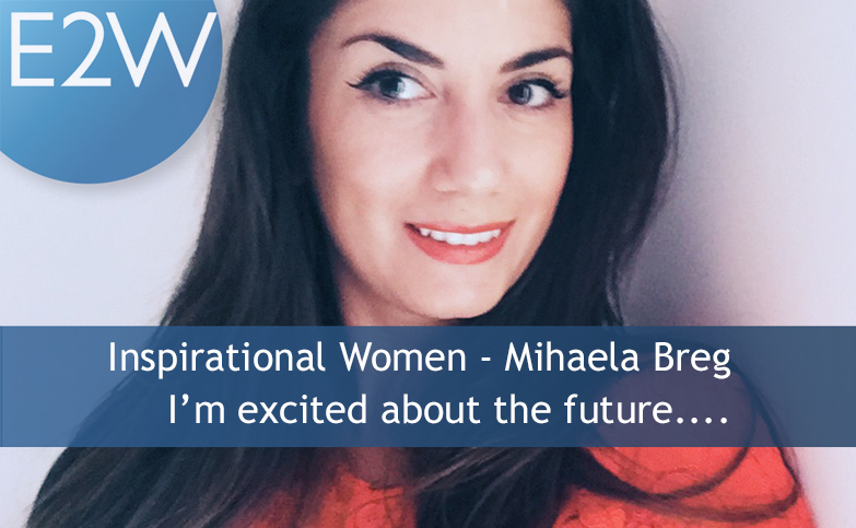 Inspiring Women - Mihaela Breg has carved out her global career….