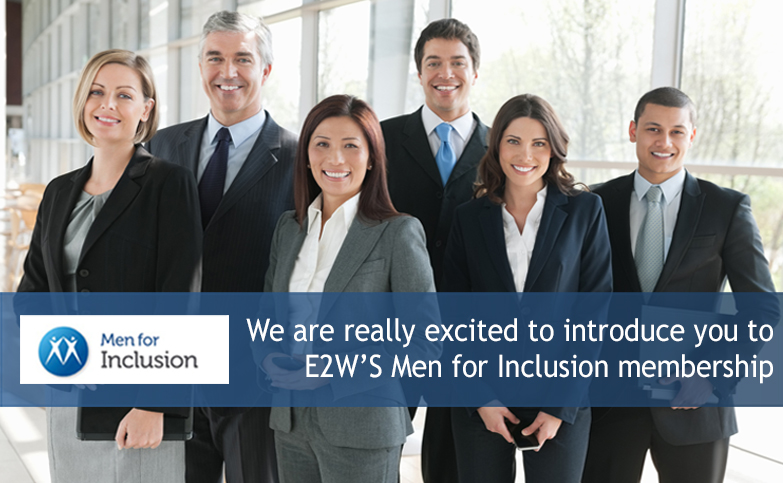 Launching E2W's Men for Inclusion