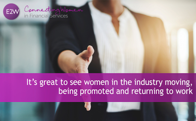 Celebrating successful women progressing with their career, returning to work and moving roles