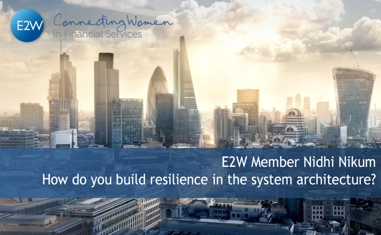 How do you build resilience in the system architecture?