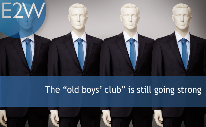"The ""old boys' club"" is still going strong"