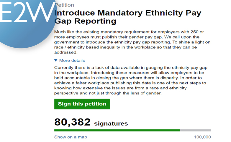 Mandatory Ethnicity Pay Gap Reporting