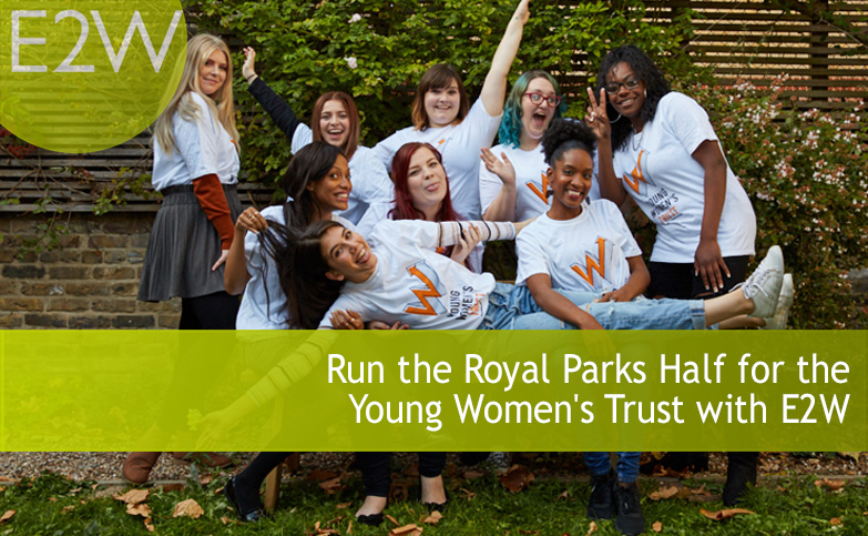 Run the Royal Parks Half for Young Women's Trust with E2W