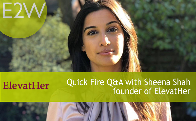 Quick Fire Questions with Sheena Shah