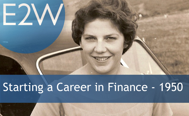 Contribute to a history of women's careers in financial services