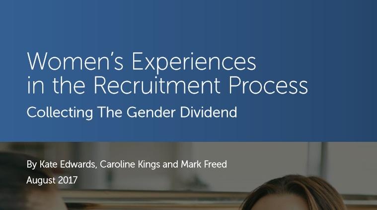 Women's Experiences  in the Recruitment Process - Survey Report Sept 2017