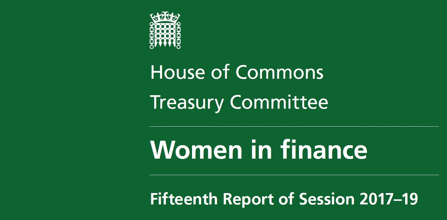 Treasury Committee  -  Women in finance