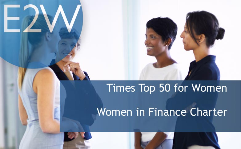 The Times Top 50 and Women in Finance Charter