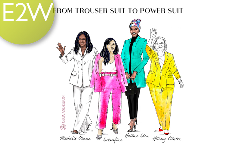 Olga Anderson 'From Trouser Suit to Power Suit'