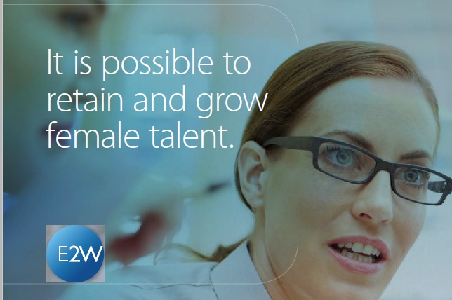 It is possible to retain and grow female talent.