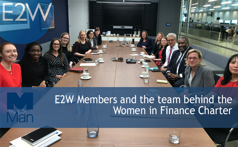 E2W members met the team behind the Women in Finance Charter