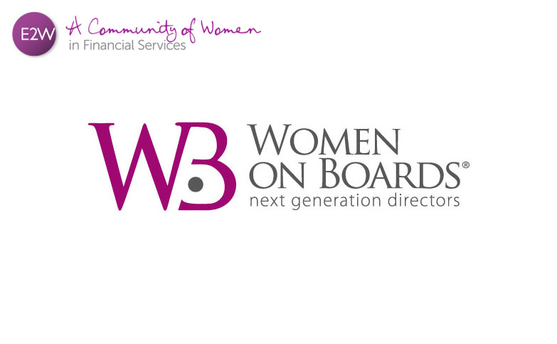 Get on Board…your chance to join a Women on Boards Workshop with E2W