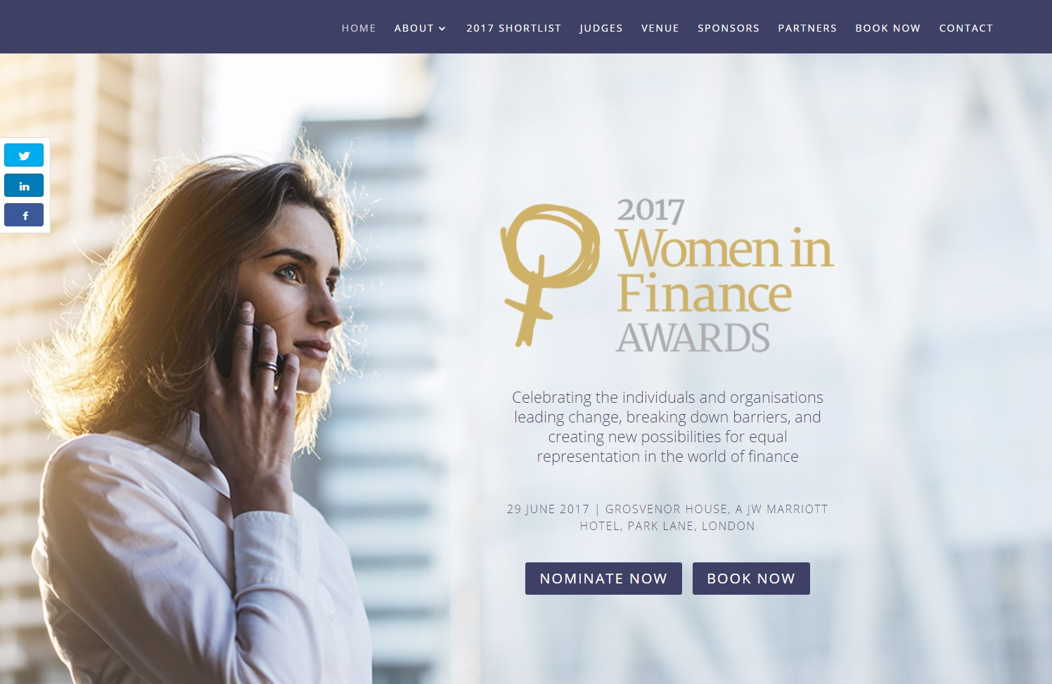 E2W - Shortlisted for the Recruiter of the Year in the Women in Finance Awards