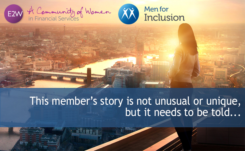 This member's story is not unusual or unique, but it needs to be told…