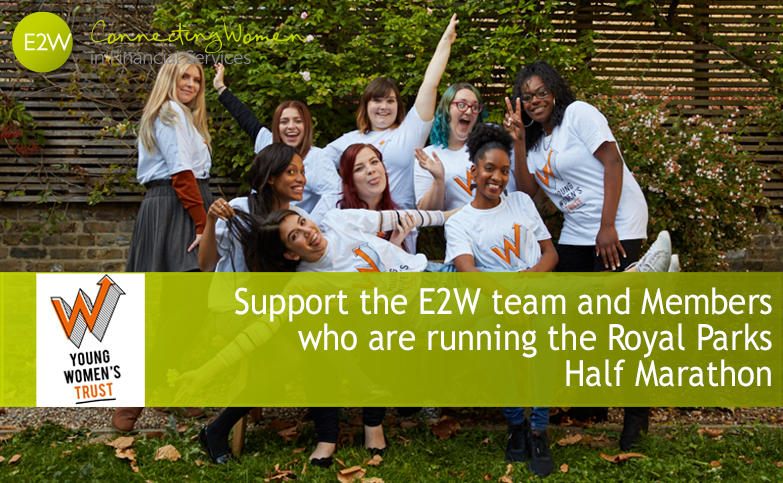 Support the E2W team and Members who are running the Royal Parks Half Marathon this month