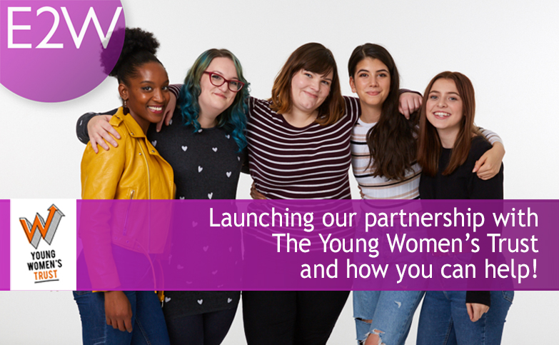 Launching our partnership with The Young Women's Trust
