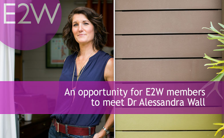 An opportunity to meet Dr Alessandra Wall