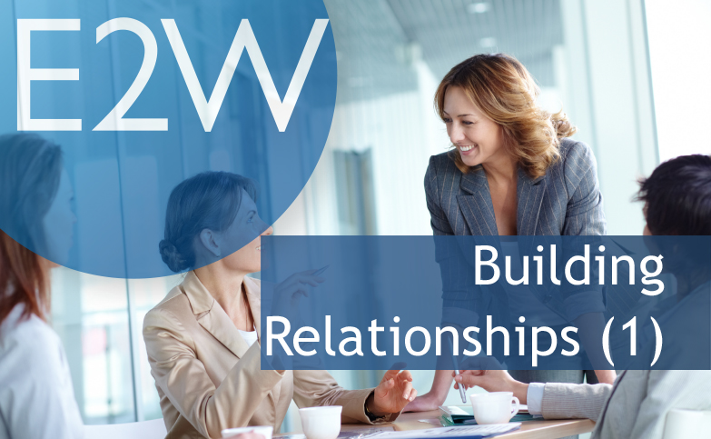 Career Conversations: (1) Professional Networking: Building Relationships
