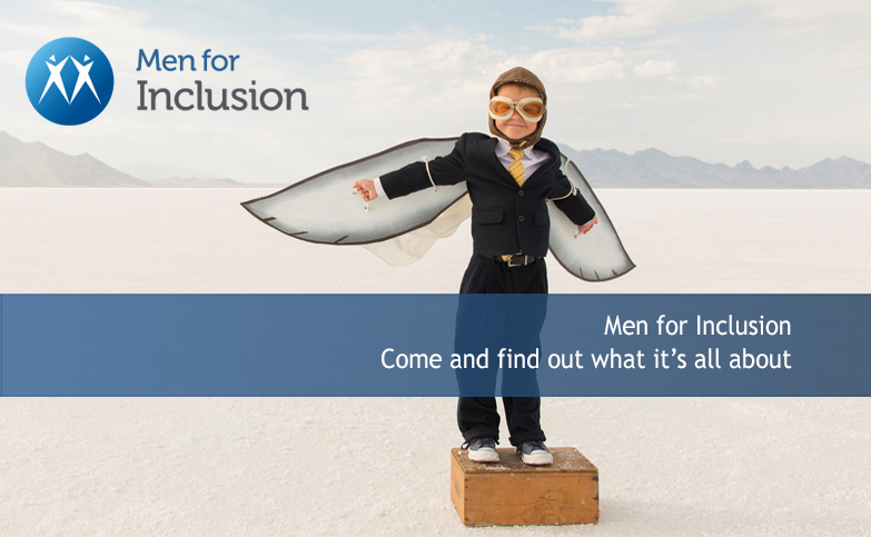 Introducing Men for Inclusion: Come and find out what it's all about.