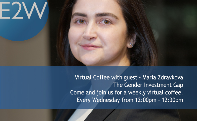 Weekly Virtual Coffee Break -  The Gender Investment Gap