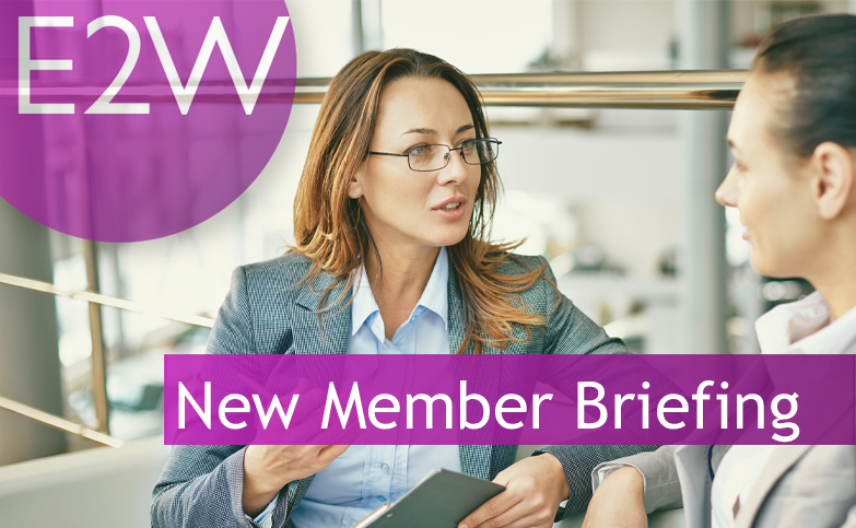 New Member Briefing
