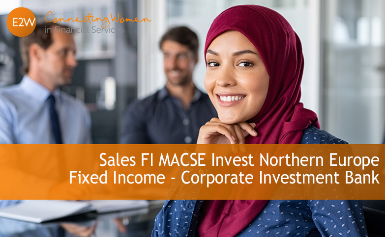 Fixed Income - Corporate Investment Bank