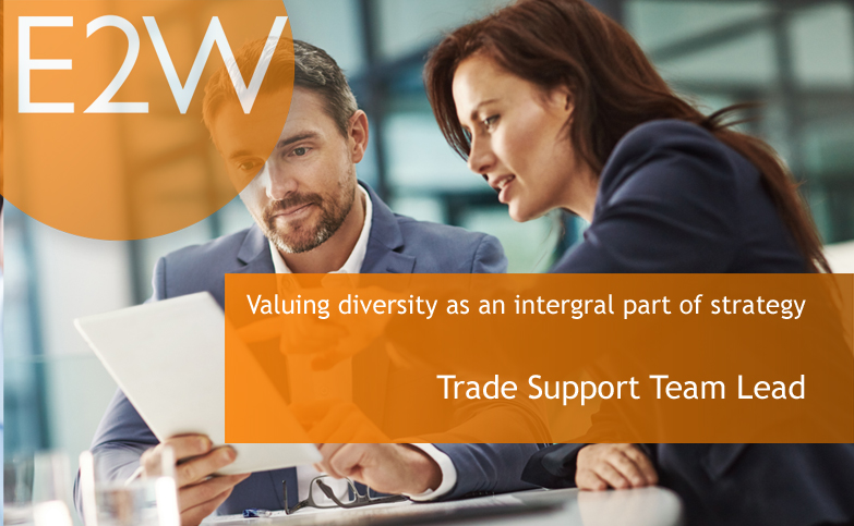 Investment Bank - Diversity as an intergral part of thier strategy - REF: MTSTL